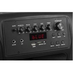 "15"" Активна тонколона AZUSA Miko 145, FM/SD/BLUETHOOT/USB/Караоке"