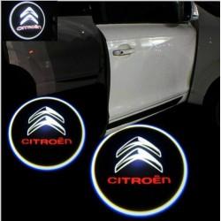 Led Лого за врати на автомобил Citroen