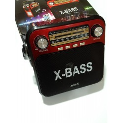 Голямо радио с USB, SD карта, акумулатор Meier M-U38