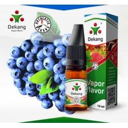 """Никотинова течност Dekang """"Blueberry"""" 10 ml."""