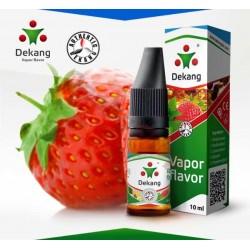 """Никотинова течност Dekang """"Strawberry"""" 10 ml."""