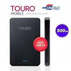 HDD външен мобилен USB диск Touro Mobile 500GB 2.5
