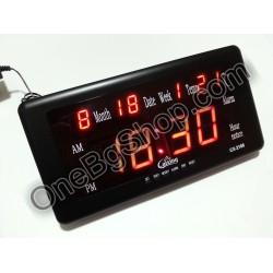 Голям LED електронен часовник Caixing CX-2168