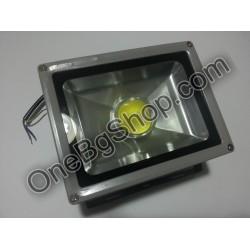 Външен LED прожектор с лупа Led 20W