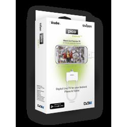 Цифров приемник DVB-T за GSM смартфон и таблет TIVIZEN